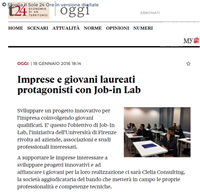 JOB IN LAB su Il Sole 24 Ore